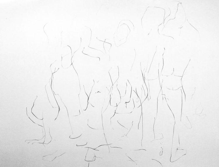 200o movement life drawing